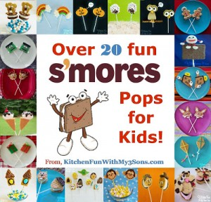 20+ of our S'mores Pops…Happy National S'mores Day!!