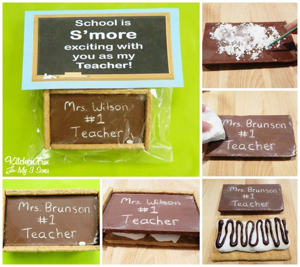 Steps to Make the Chalkboard S'mores