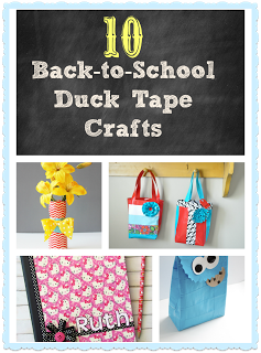 Back to School Duct Tape Ideas