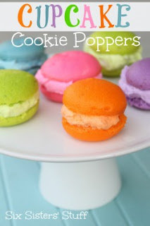 Cupcake Cookie Poppers