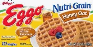 Eggo Nutri Grain Honey Oat