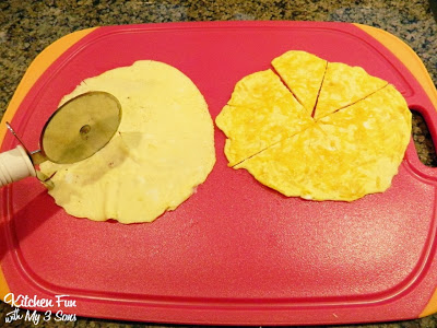 Cut the Egg into Pizza Slices
