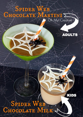Spider Web Drinks for adults & kids