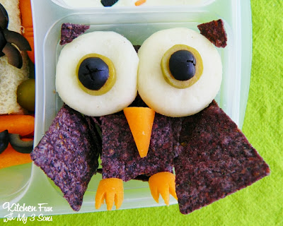 Owl Chip and Cheese Snack