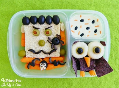 Halloween Bento Lunch with Lindsay Olives