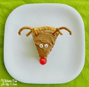 Christmas Reindeer Pie