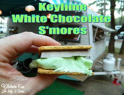 Keylime White Chocolate S'mores