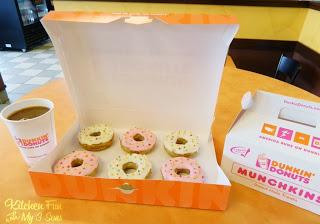 April Fools Dunkin Donuts Dinner