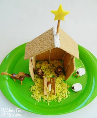 Top View of the Manger