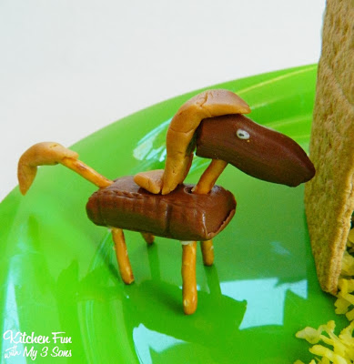 Caramel and Tootsie Roll Horse