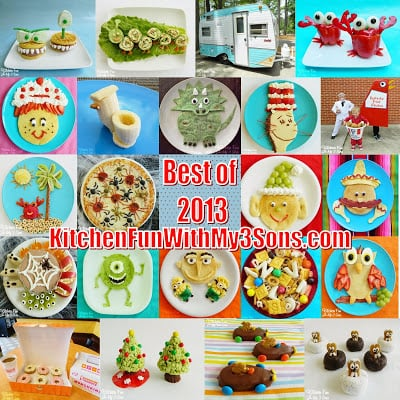 Our most Popular Fun Food Creations from 2013!!