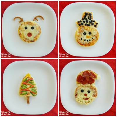 Christmas Biscuit Pizza Ideas