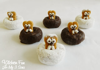 Groundhog Day Donuts