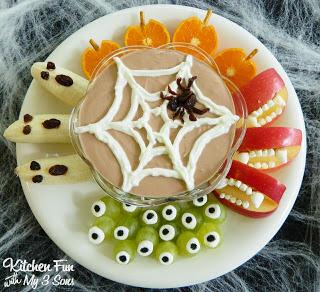 Halloween Spooky Fruit Snacks