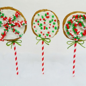 Chrismas Cookie Pops