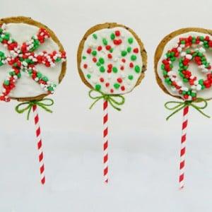 Chrismas Cookie Pops