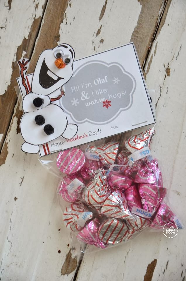 Olaf Valentines with a FREE Printable