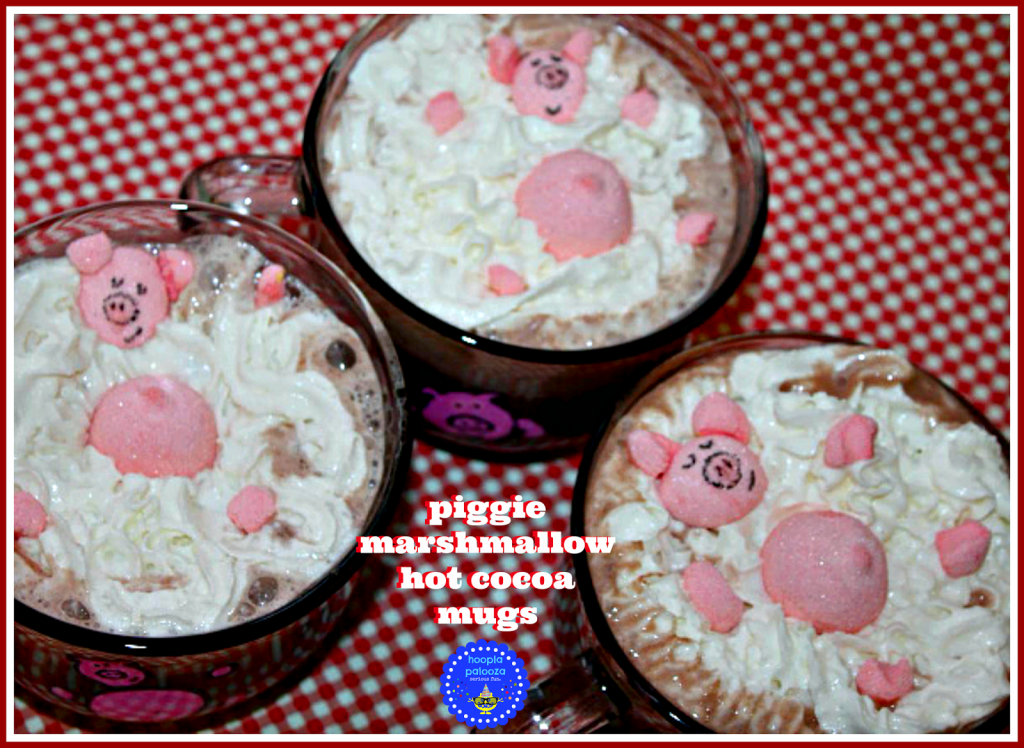 Hot Cocoa Piggy Mugs