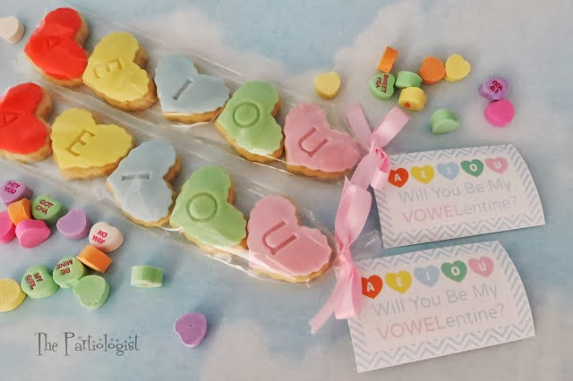 Be My VOWELentine Cookie idea for a Teacher
