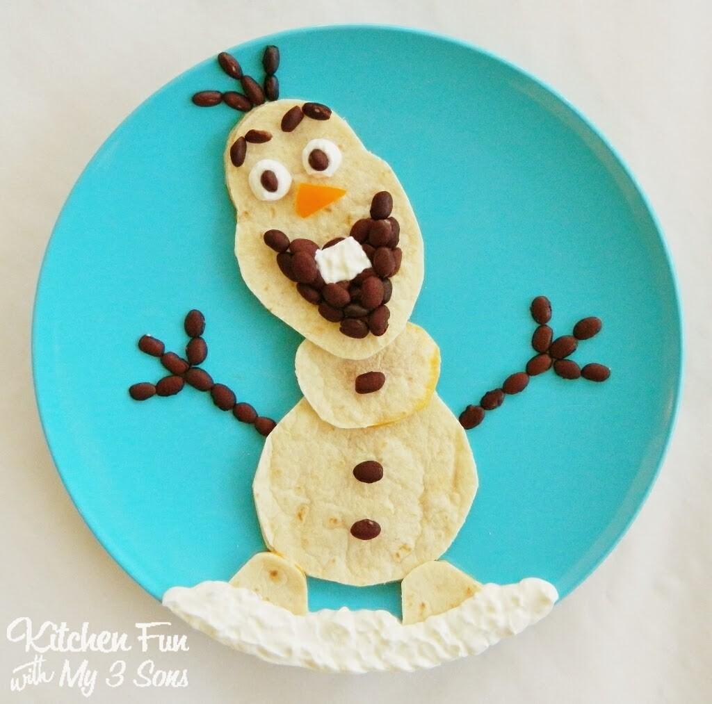 Disney's Frozen Olaf Quesadilla Dinner