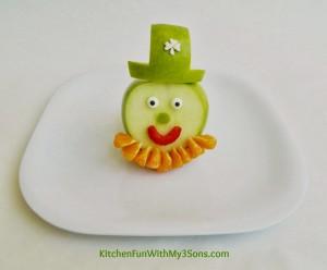 St. Patrick's Day Leprechaun Fruit Snack