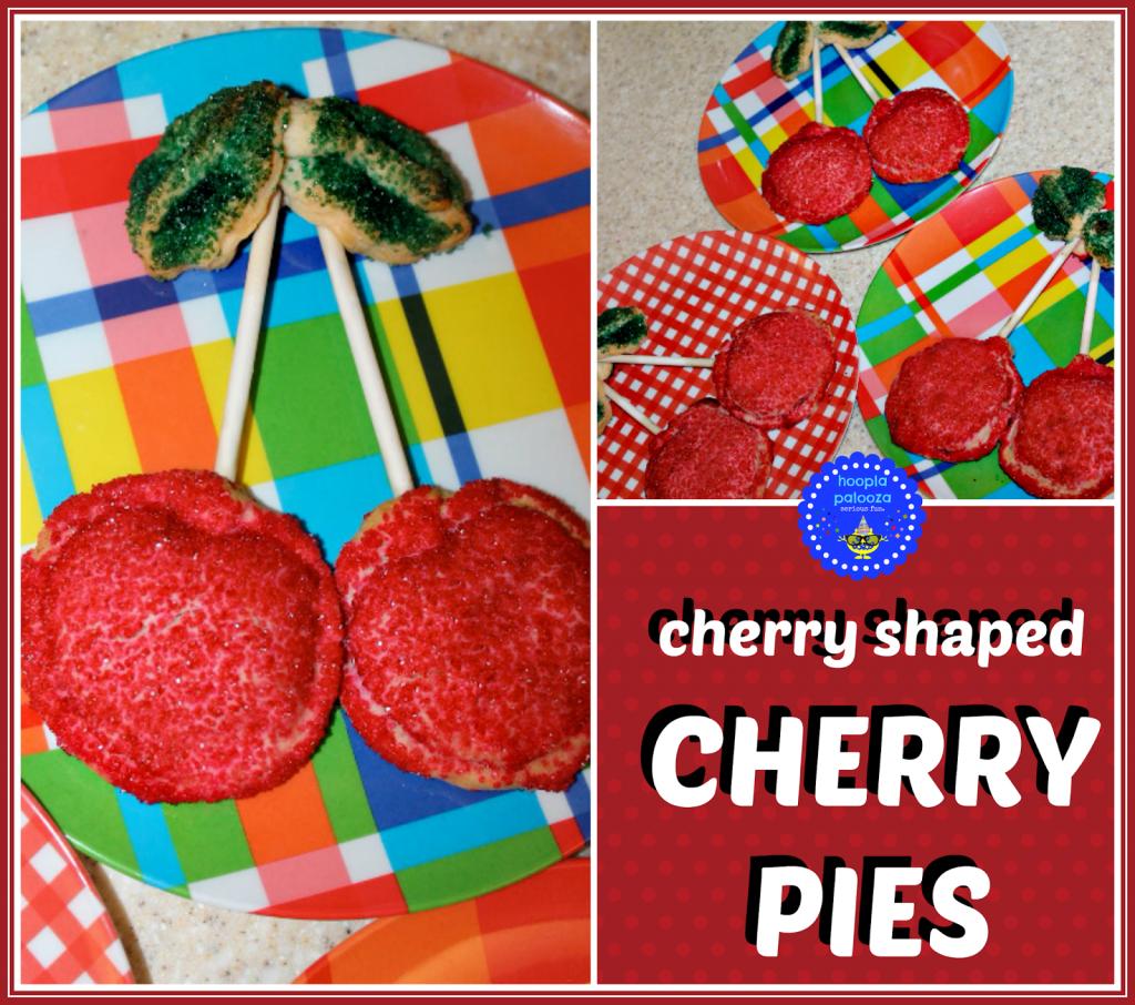 Cherry Shaped Cherry Pies