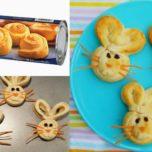 Easy Easter Bunny Buns