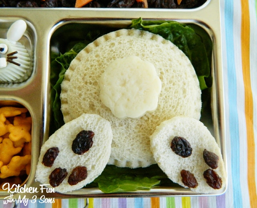 Easter Bunny Butt Bento Lunch Kitchen Fun With My 3 Sons