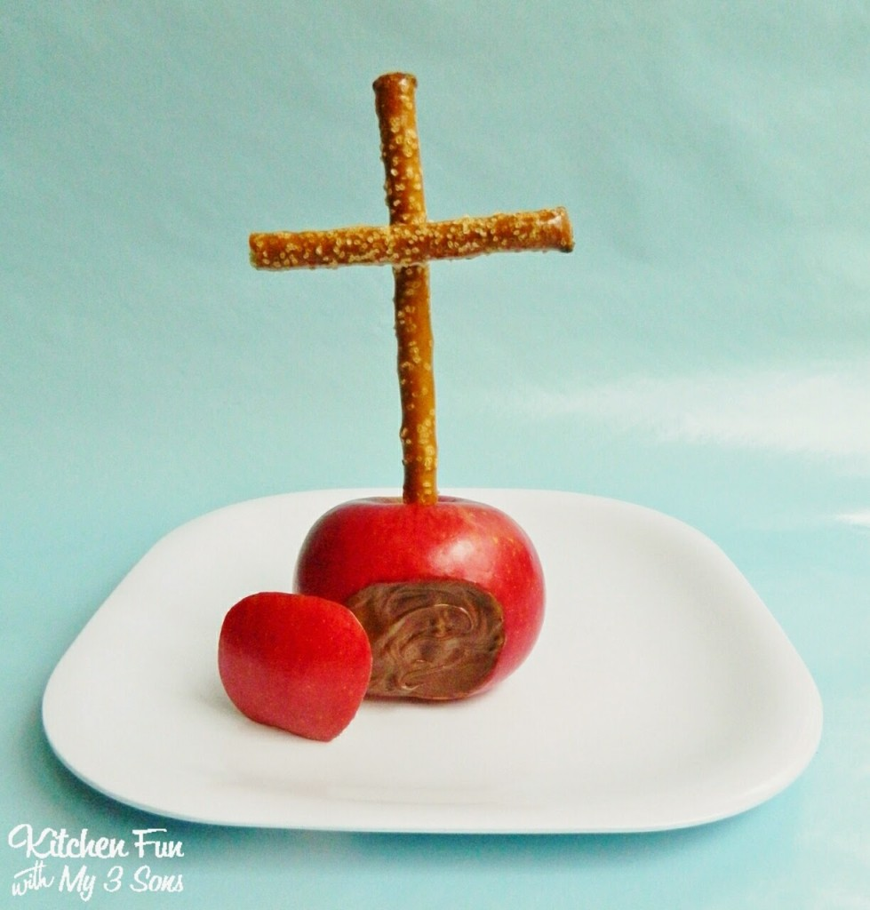 Easter Cross Fruit Snack