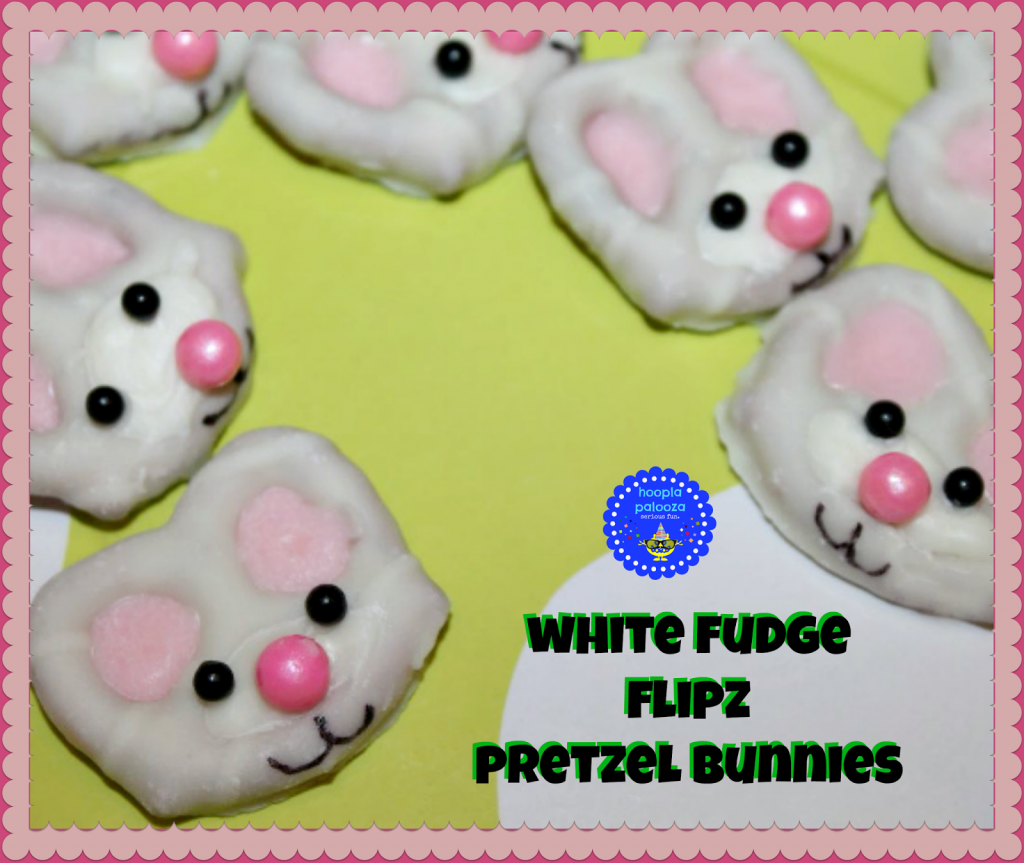 White Chocolate Bunny Pretzels