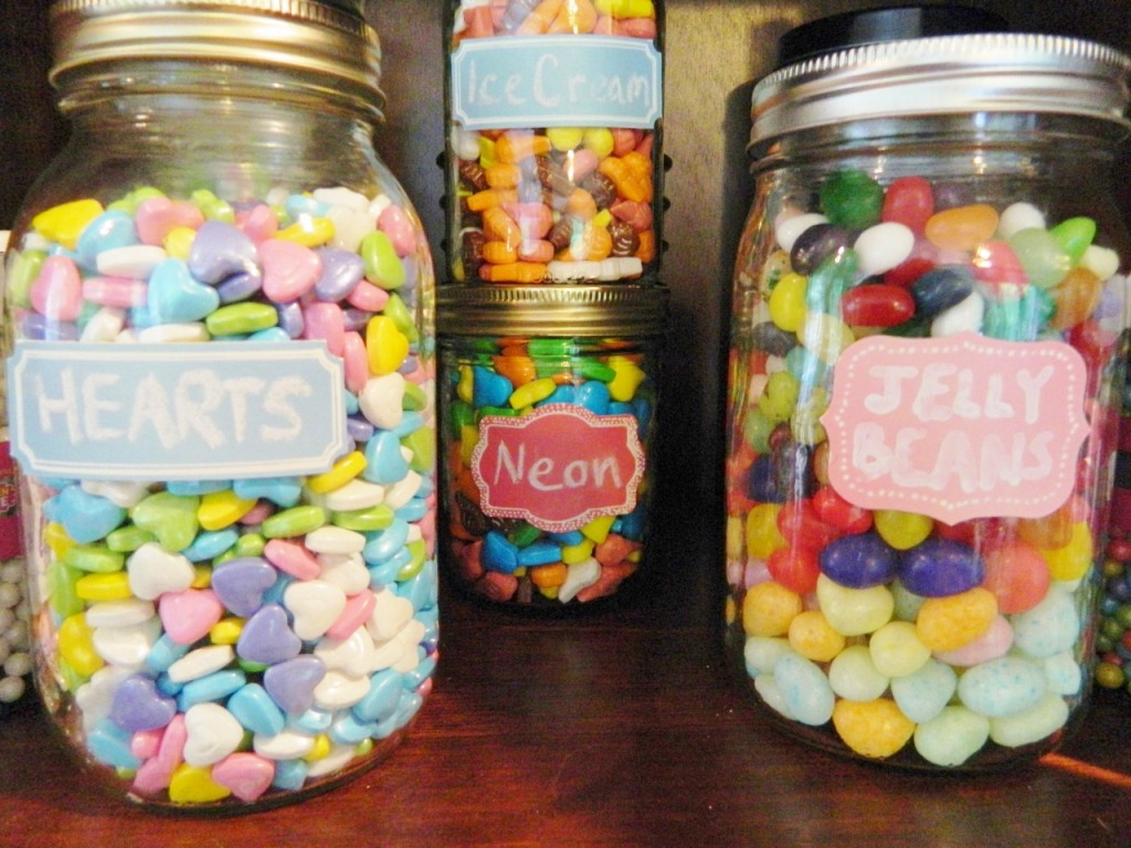 Always have lots of hearts & jelly beans on hand for creating fun treats
