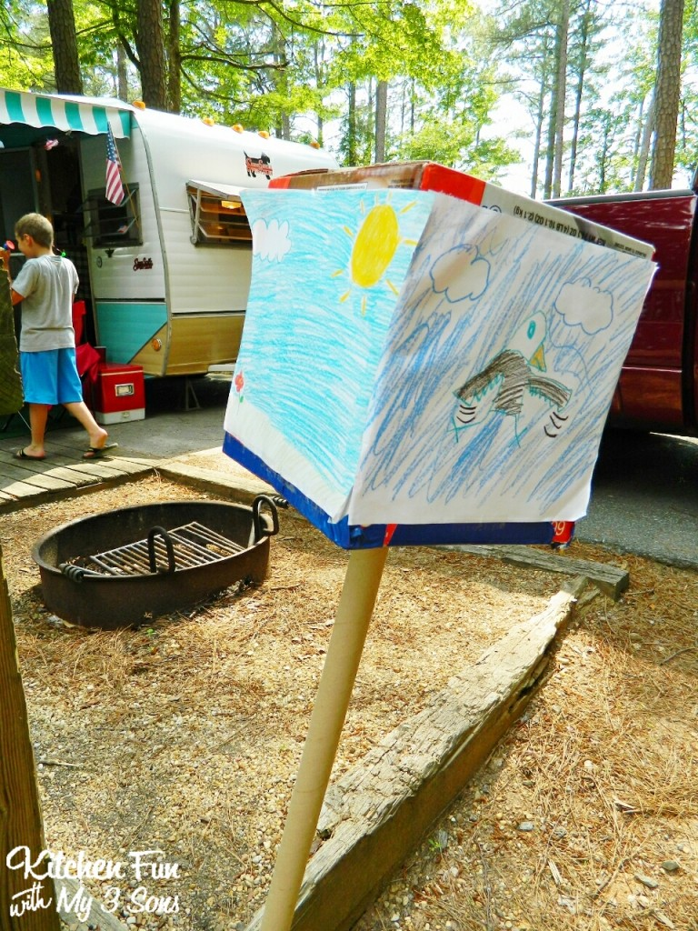 Camping fun food & craft ideas for kids and our McKinney Camping ...