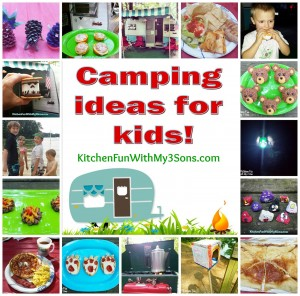 Camping fun food & craft ideas for kids and our McKinney Camping Trip!