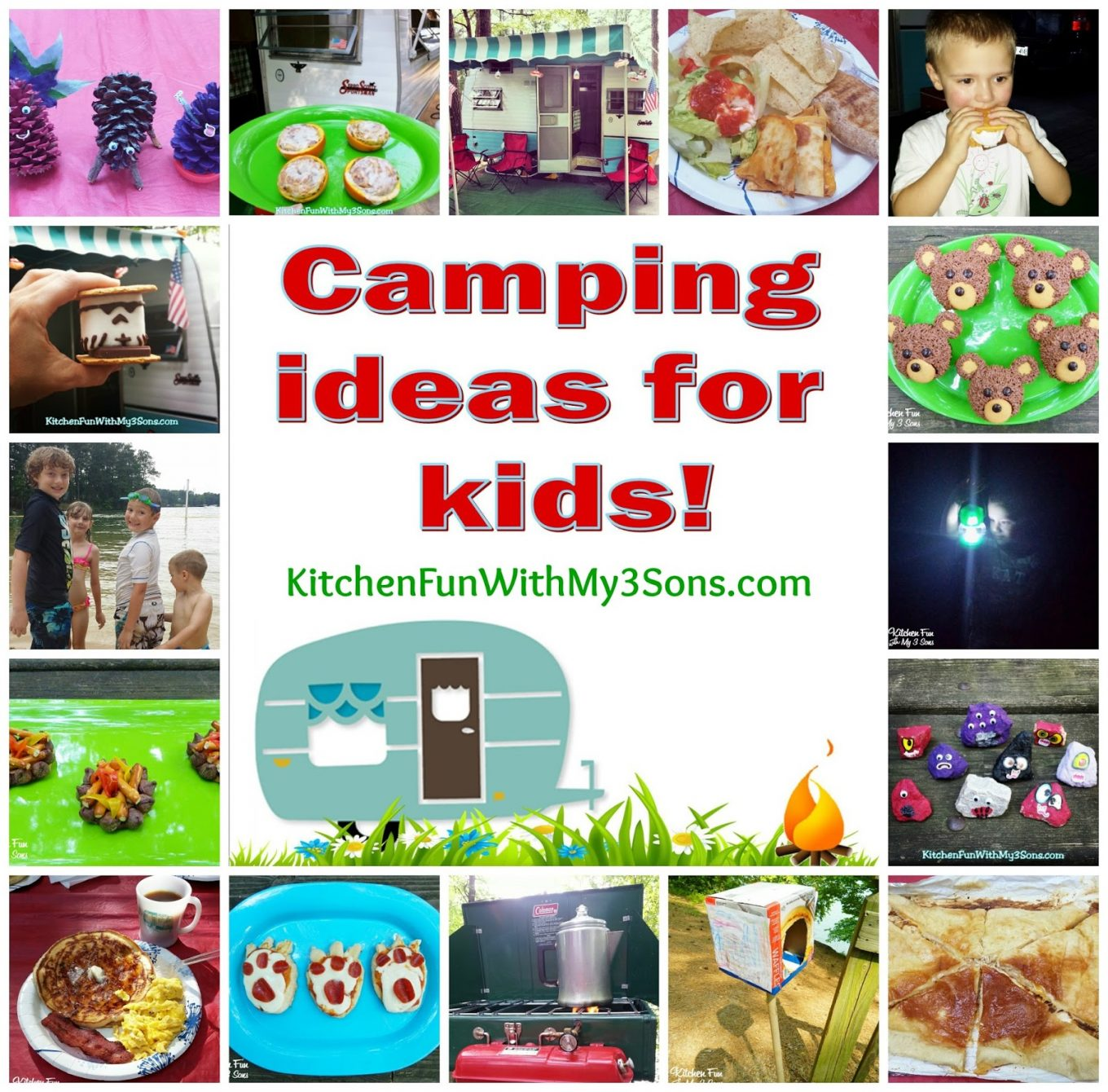 Camping Fun Food & Craft Ideas For Kids And Our McKinney