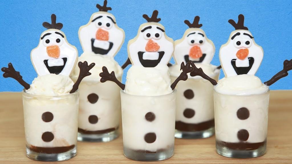 Olaf Frozen Treats