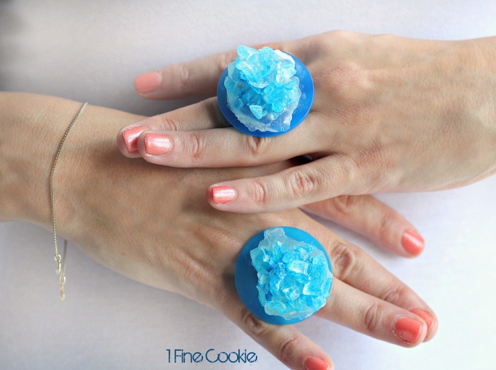 DIY Ice Candy Rings