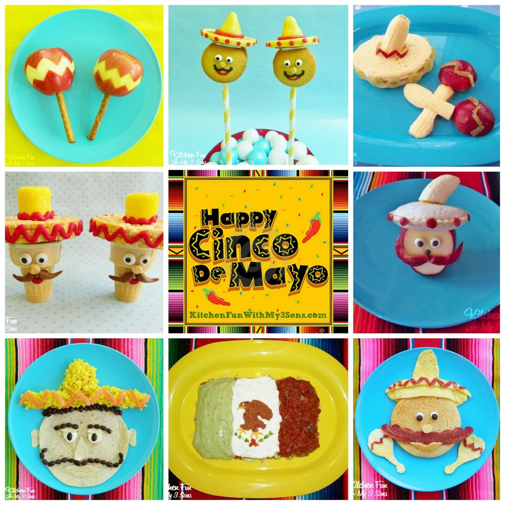 You can view all of our other fun food Cinco de Mayo creations HERE!