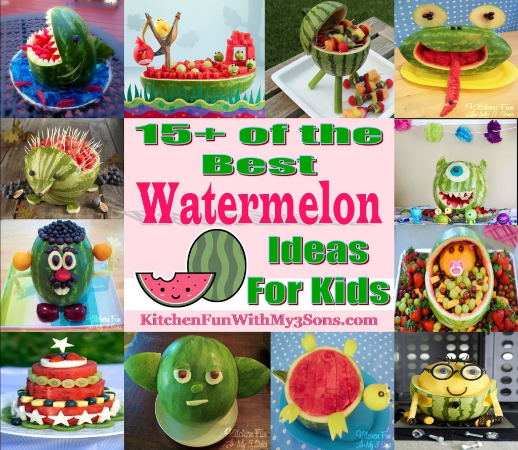 other fun Watermelon creations