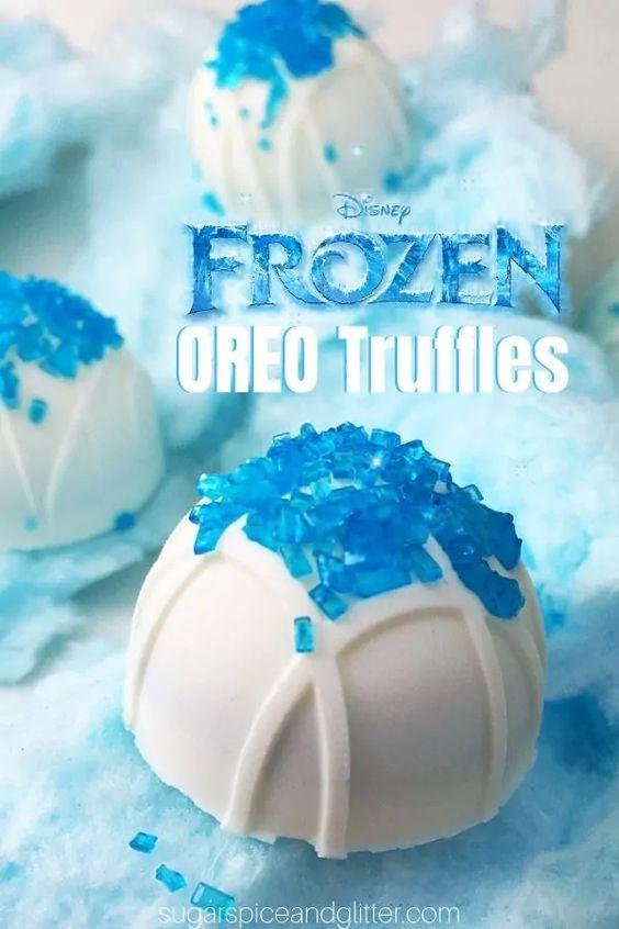 Frozen Oreo Balls