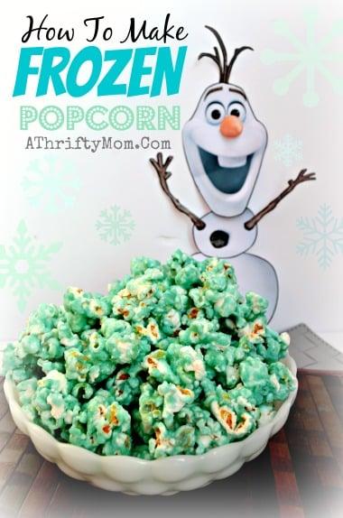Frozen Party Popcorn