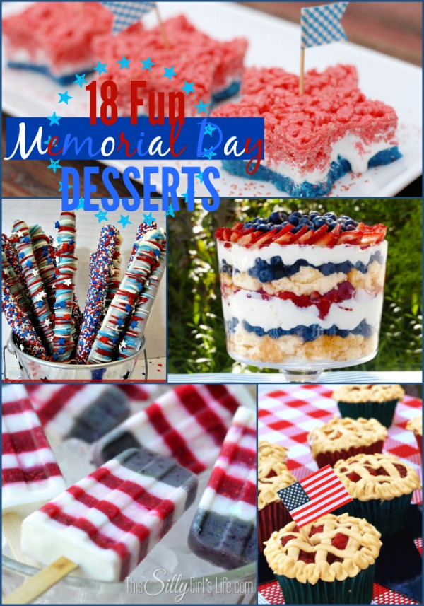 18 Fun Memorial Day Desserts