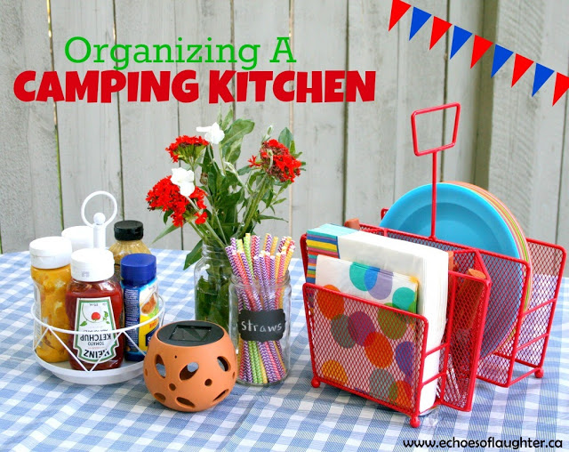 Organizing a Outdoor Camping Kitchen