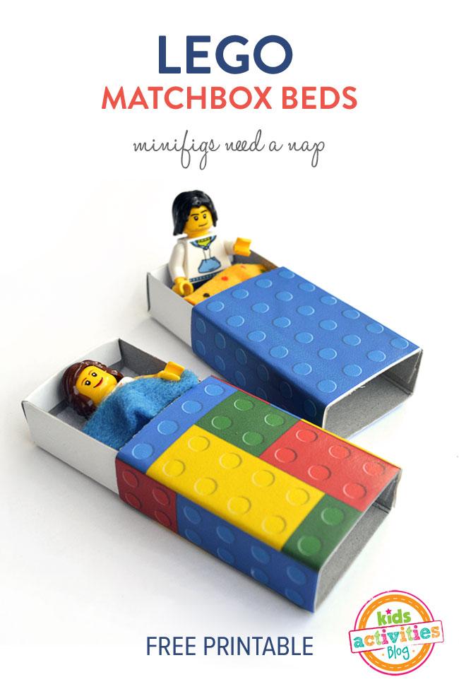 Lego Matchbox Beds