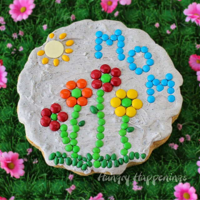 Sugar Cookie Garden Stones for Mother's Day