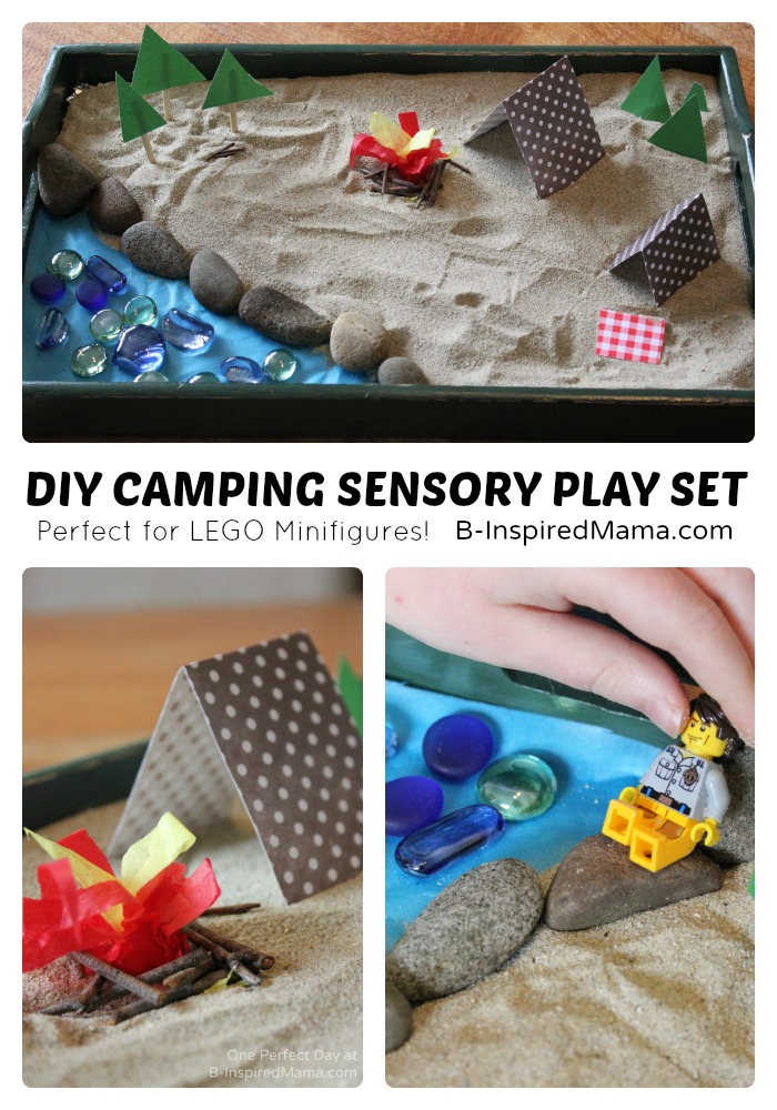 DIY Camping Sensory Play