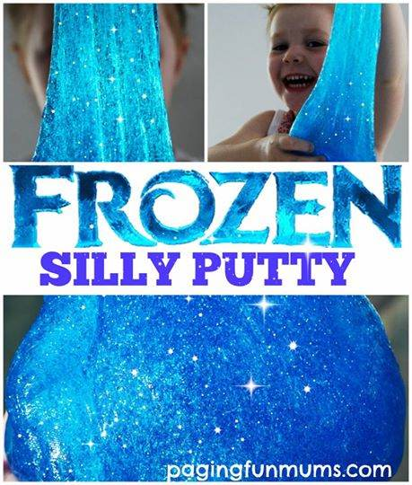 DIY Frozen Silly Putty