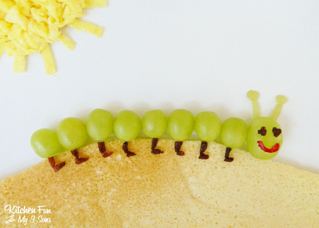 Caterpillar Breakfast