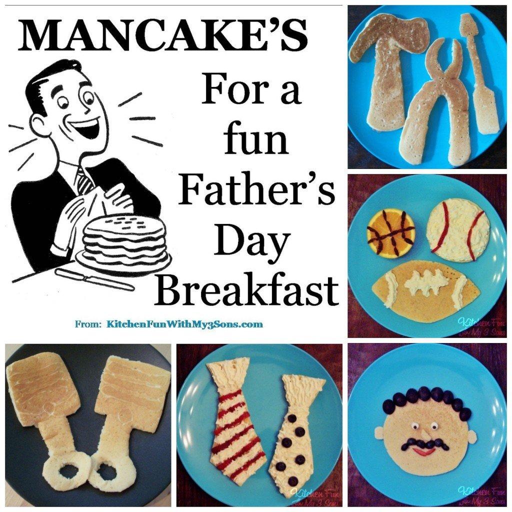 Mancake ideas