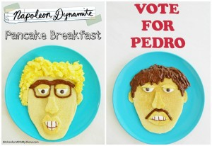 Napoleon Dynamite Breakfast including Pedro Pancakes!