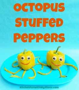 Octopus Stuffed Peppers